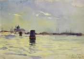 John Singer Sargent - On the Lagoons, Venice, 1880-81
