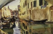 John Singer Sargent - Small Canal, Venice, 1902-04