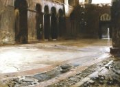 John Singer Sargent - The Pavement of Saint Marks, 1898