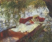 John Singer Sargent - Two Women Asleep under the Willows
