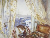 John Singer Sargent - View from a Window, Genoa