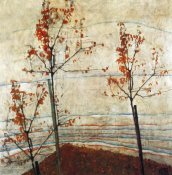 Egon Schiele - Autumn Trees 1911
