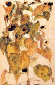 Egon Schiele - Sunflowers