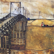 Egon Schiele - The Bridge