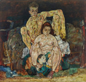 Egon Schiele - The Family 1918