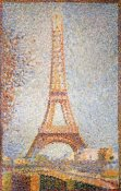 Georges Seurat - Eiffel Tower