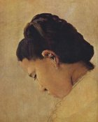 Georges Seurat - Head Of A Girl