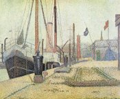 Georges Seurat - La Maria At Honfleur