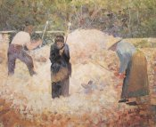 Georges Seurat - The Stonebreakers Le Raincy
