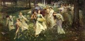 Charles Daniel Ward - The Progress Of Spring, 1905