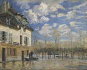 Alfred Sisley - Boat In The Flood At Port Marly