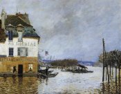 Alfred Sisley - Flood At Port Marly