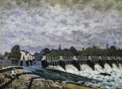 Alfred Sisley - Molesey Weir Morning