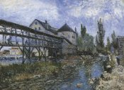 Alfred Sisley - Provenchers Mill At Moret