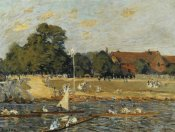 Alfred Sisley - Regatta At Hampton Court