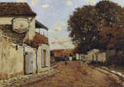 Alfred Sisley - Street In Louveciennes