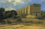 Alfred Sisley - The Aquaduct At Marly