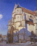 Alfred Sisley - The Church At Moret