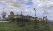 Alfred Sisley - View Of Montmarte From The Cite Des Fleurs