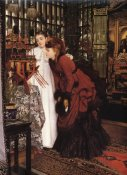 James Tissot - Ladies Looking At Japanese Objects