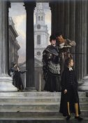 James Tissot - London Visitors