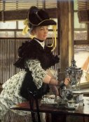 James Tissot - Tea Time