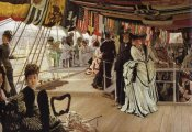 James Tissot - The Ball On Shipboard