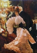 James Tissot - The Political Lady