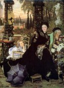 James Tissot - The Widow