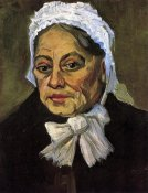Vincent Van Gogh - Old Woman White Cap