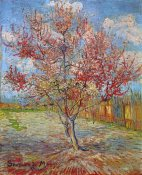 Vincent Van Gogh - Pink Peach Tree In Blossom