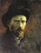 Vincent Van Gogh - Self Portrait Dark Felt Hat