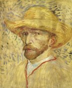 Vincent Van Gogh - Self Portrait Straw Hat