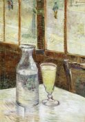 Vincent Van Gogh - Still Life Absinth And Carafe