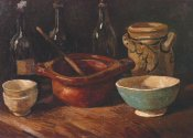 Vincent Van Gogh - Still Life Earthenware And Bottles