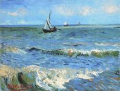 Vincent Van Gogh - The Sea At Les Saintes Maries De La Mer