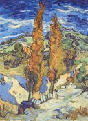 Vincent Van Gogh - Two Poplars On Road