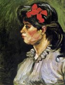 Vincent Van Gogh - Young Woman With Ribbon