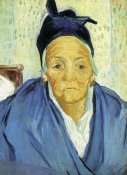 Vincent Van Gogh - An Old Woman From Arles
