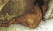 Vincent Van Gogh - Back Nude Woman Reclining