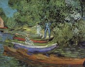 Vincent Van Gogh - Bank Of Oise At Auvers