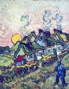 Vincent Van Gogh - Figure And Houses
