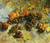 Vincent Van Gogh - Grapes Apples Pear Lemons