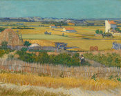 Vincent Van Gogh - Harvest At La Crau And Montmajour