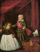 Diego Velazquez - Don Baltasar And His Dwarf
