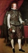 Diego Velazquez - King Philip IV In A Costume With Silver