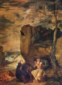 Diego Velazquez - Saint Anthony Abbot And Saint Paul The Hermit