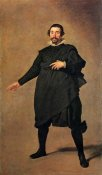 Diego Velazquez - The Buffoon Pablo De Valladolid