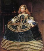 Diego Velazquez - The Infanta Margarita In A Blue Dress