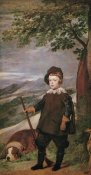 Diego Velazquez - The Infante Baltasar Carlos As A Hunter
